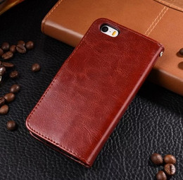 For Iphone 5C Case Cover Clip Wallet Flip Luxury Stand Leather Case For Apple Iphone 5C