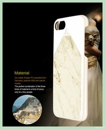 Wholesale Best Selling phone cases with retail package Natural Marble Material laptop true PC personalized phone covers for Iphone plus