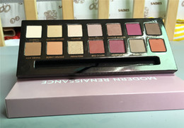 Wholesale In stock New ABH Beverly Hills Modern Renaissance Makeup Set Colors Eyeshadow with Brush makeup dhl