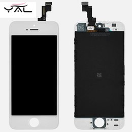 Wholesale Tian ma best AAA Top quality LCD Touch Screen For iPhone s LCD Digitizer For iPhone s LCD Display Assembly Tested No Dead Pixel