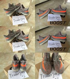 Wholesale With Box Mens and Womens Running Shoes Men Boost V2 SPLY STEGRY BELUGA SOLRED Primenkit Sneakers Size US5 Boosts Boots
