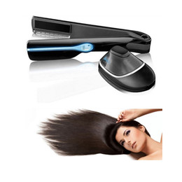 2016 Magic Steam Infusion Hair Straightener cepillo de vapor de plancha de pelo hierro de calefacción eléctrica de alisado vapor Pro Belleza Salón de herramientas desde salones para alisar el cabello fabricantes
