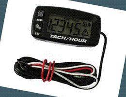Wholesale Digital Resettable Inductive Tacho Hour Meter Tachometer For Motorcycle Marine Boat ATV Snowmobile Generator Mower