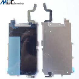Wholesale For iPhone Plus LCD Screen Metal Back Plate Home Button Flex Heat Shield Replacement Repair Parts