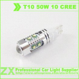 Wholesale Best offer T10 W5W W CREE XPE high power led led car styling parking super bright indicator interior with Projector Lens