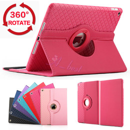 For iPad air Flip Detachable Leather Case Stand TPU Rotating Wallet Credit Card Slots For iPad Pro 9.7 Mini 1 2 3