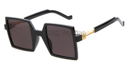 Newest Square Flat Frame Vintage Sunglasses Mirrored Lenses Unisex Special Designer Vintage Sun Glasses Cheap Wholesale Sunglasses