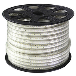 Single Color High Voltage AC110V AC220V Flexible Led Strip Light IP65 Waterproof SMD3528 60LEDS Strip Light 4.8W M 100M Roll