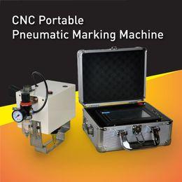 Wholesale Factory price CNC portable pneumatic marking machine dot peen marking equipment for big metal parts no need PC