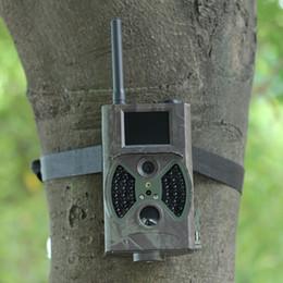 La caza cámara de exploración gsm en Línea-3pack 12MP FHD GSM MMS GPRS correo electrónico Digital Hunting Trail cámara con 12MP 1080P detección de movimiento 850nm visión nocturna Scout juego de la cámara