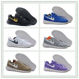 Wholesale Hot Sale Mesh Roshe One Br Moire Running Shoes Men Women Breathable RosheRun Athletic London Olympic Sport Sneakers With Box Size US5