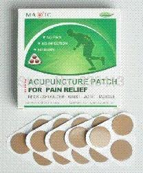 Wholesale home remedies best pain reliever china patent magnetic acupuncture patch for neck pain relief CE approved