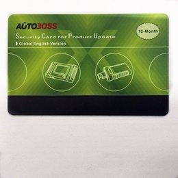 Wholesale 2016 for Autoboss V30 Elite Security Card One Year Online Update Global Version V30 ELITE V30 Update Card
