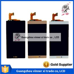 Wholesale 100 Warranty LCD Display Touch Screen Glass Digitizer with Frame Assembly Replacement For Huawei Honor