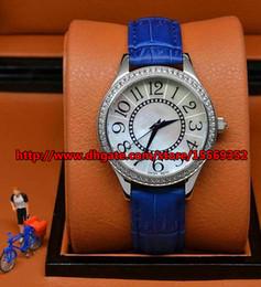 2016 Luxurious business fashion classic fine durable imported advanced quartz waterproof Diamond Fancy Leather Ladies Watch