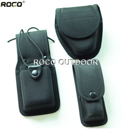 Wholesale Luggage Bags Waist Packs Police Officer EMS Security Duty Belt Pouches amp Rigs Radio Pouch Handcuff Case Spray Pouch
