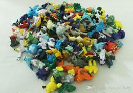 Compra Online Película de acción-144 PCS Poke Monster Pikachu PVC de los juguetes de dibujos animados de Cosplay de las películas de acción Figura Decoración de la muñeca Juguetes para niños Kids regalos 3 cm