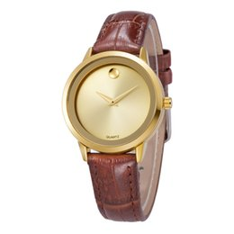 Wholesale Luxury Watches Lady Casual Sports Watches Women Watch Japan Import Movement Waterproof Leather Strap Watch simulation Movad For BELBI