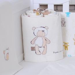 Wholesale 2016 HOT baby bedding set cotton crib bumper baby cot sets baby bed bumper