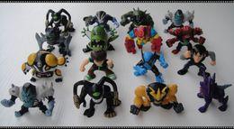 Wholesale 10pcs set cm ben omnitrix action figures toy hobbies great boys gift collection model classic toys
