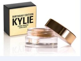 Wholesale 2016 New Kylie Jenner Birthday Editon Kylie Cosmetics Creme Shadow Copper Rose Gold Creme OMBRE perfect kylie eye