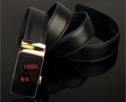 Wholesale 2016 Brand Belt Mens Belt Luxury Automatic buckle Belts Genuine Leather belts Jeans Belt for Men