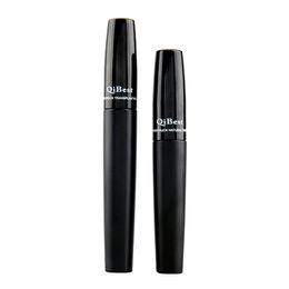 2016 QiBest 3D Fiber Lashes Mascara Cosmetics Mascara Black Double Mascara Set Makeup Lash Eyelash Waterproof VS 5103 5233 Mascara(0605093