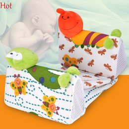 HOT Sell 2016 Pillows New Creative Animal Infant Baby Positioners Side Ventilation Sleeping Pillow Anti Roll Baby Pillow Bed Safe SV009914