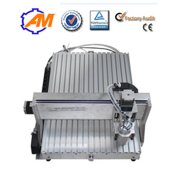 AMAN cnc engraving machine spindle motor high quality 6040 CH80 1500w soft metals plastics woodworking plastic cnc mini engraving machine
