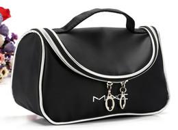 2016 New Makeup Cosmetic Bags Retro Beauty Wash Case Zipper Handbag Makeup Bags Free shopping