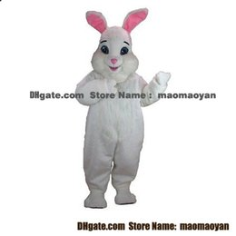 Wholesale Easter Bunny Mascot Costumes Cartoon Character Adult Sz Real Picture