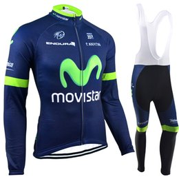 Wholesale Winter Pro Team Cycling Jerseys Mountain Road Cycling Clothing Anti Pilling Long Sleeves Sets Can Choose Mixed Sizes Cycling Clothes MO