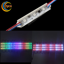 Wholesale 5050 LED Module RGB LED module With IC UCS1903 WS2811 SM16703 Outdoor IP67 DC12V Waterproof For Advertising Channel Letter