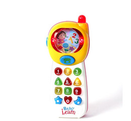 Wholesale Early Education Leaning Baby Toy Mobile Phone Child Multifunctional Mobile Phone Baby Mobile Phone Toy