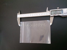 Sealing PP PE Polypropylene Clear Plastic Transparent Bags 129*93mm15 wire Bag with Zip Lock Heat Seal for Food Cotton 100pcs lot DHL