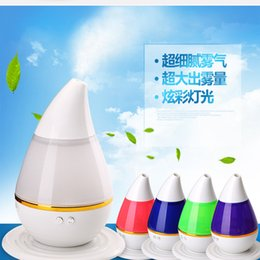 Wholesale 250ml Aromatherapy Essencial Oil Diffuser Color Changing Mini Mute Humidifier Portable Ultrasonic Cool Mist Aroma USB Humidifier for Vehicle