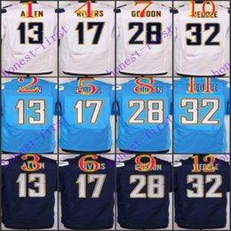 Wholesale 2016 Elite Football Stitched Allen Rivers Melvin Gordon Weddle Navy Light Blue White Dark Blue Jerseys Mix Order