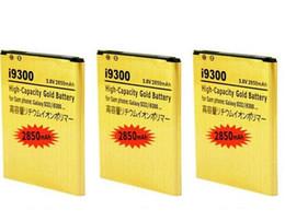 2850mAh EB-L1G6LLU Gold Battery for Samsung Galaxy S3 SIII I9300 I535 I747 L710 T999 Galaxy Victory 4G LTE L300 Bateria Batteries