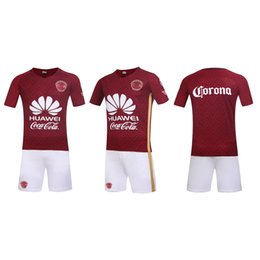 Wholesale Americas away soccer sets no brands have the team logos style soccer uniforms