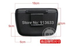 Wholesale In stock Mini Car Trash Bin Garbage Can Super Quality Black Dt596 can black canned greens