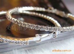 Wholesale Han edition of earrings Fashion earrings set auger circle joker Authentic Czech drilling super flash