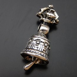 10PCS Antique Silver Alloy Bell Pendant Charm Jewelry Finding 15*21mm 39835 jewelry making
