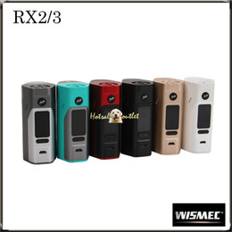 Wholesale Authentic WISMEC Reuleaux RX2 MOD Upgradeable Firmware with Custom Logo Reuleaux RX2 an Updated Version of Reuleaux RX200S Mod