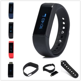 Wholesale Original Smart watch i5 plus with Bluetooth Sleep Monitor Bracelet Mini Active Tracker for cell phones Smart band