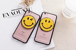 Wholesale Happy Smile Deluxe Fashion Face Hard PC Soft TPU Case Fashion Lovely Plastic Silicone Cover Cartoon Skin For Iphone S Plus
