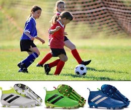 Kid soccer shoes ACE 16 purecontrol slip on high ankle kids football shoes children boys soccer cleats women girl ACE16 pure control boot