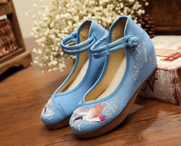 women's Casual shoes Embroidered cloth shoes scenic spot features custom Chinese wind characteristic mark women's shoes