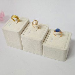 3pcs set Jewellery Box and Packaging Fashion Jewelry Display Stands for Ring Holder Velvet Display Rack to Wedding Rings Tower