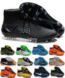 Wholesale 2016 Men Magista Obra FG with ACC Soccer Boots Cleats Laser original Men s Shoes Football Shoes Soccer Shoes Eur