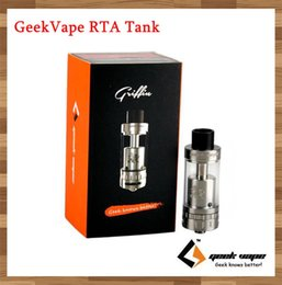 Wholesale GeekVape Griffin RTA Black SS ml Top Refilling Rebuidable Tank Atomizer with Velocity Style Deck vs Avocado RTA